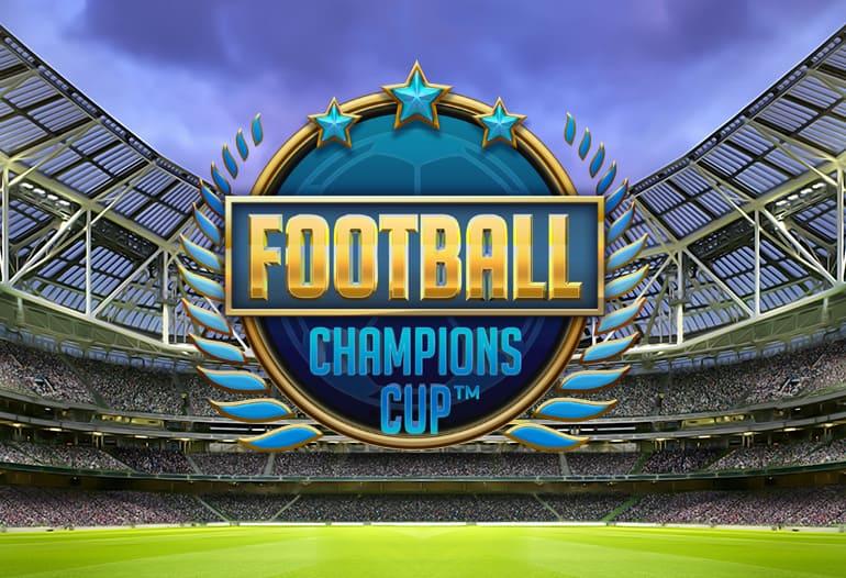 Football Champions Cup slot - Ny spelautomat från NetEnt!