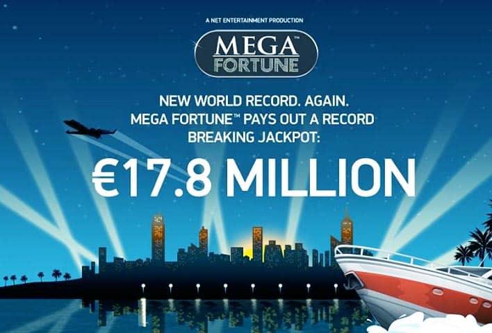 Mega Fortune jackpot vinst till lycklig svensk casino vinnare!