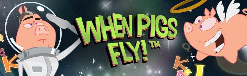 When Pigs Fly – En udda men fantastisk rolig spelautomat