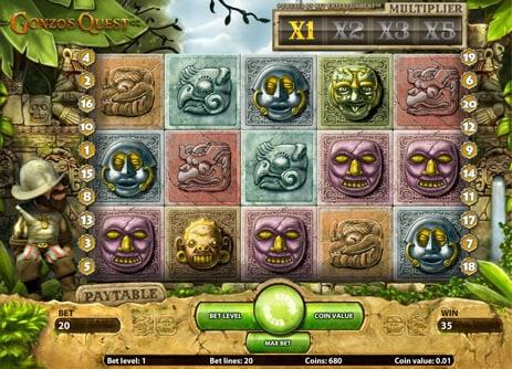 online slots Klassikern Gonzo's Quest